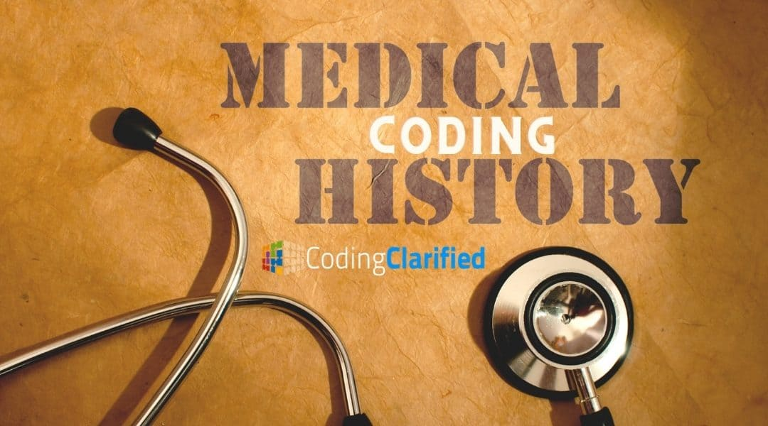 The History of Medical Coding