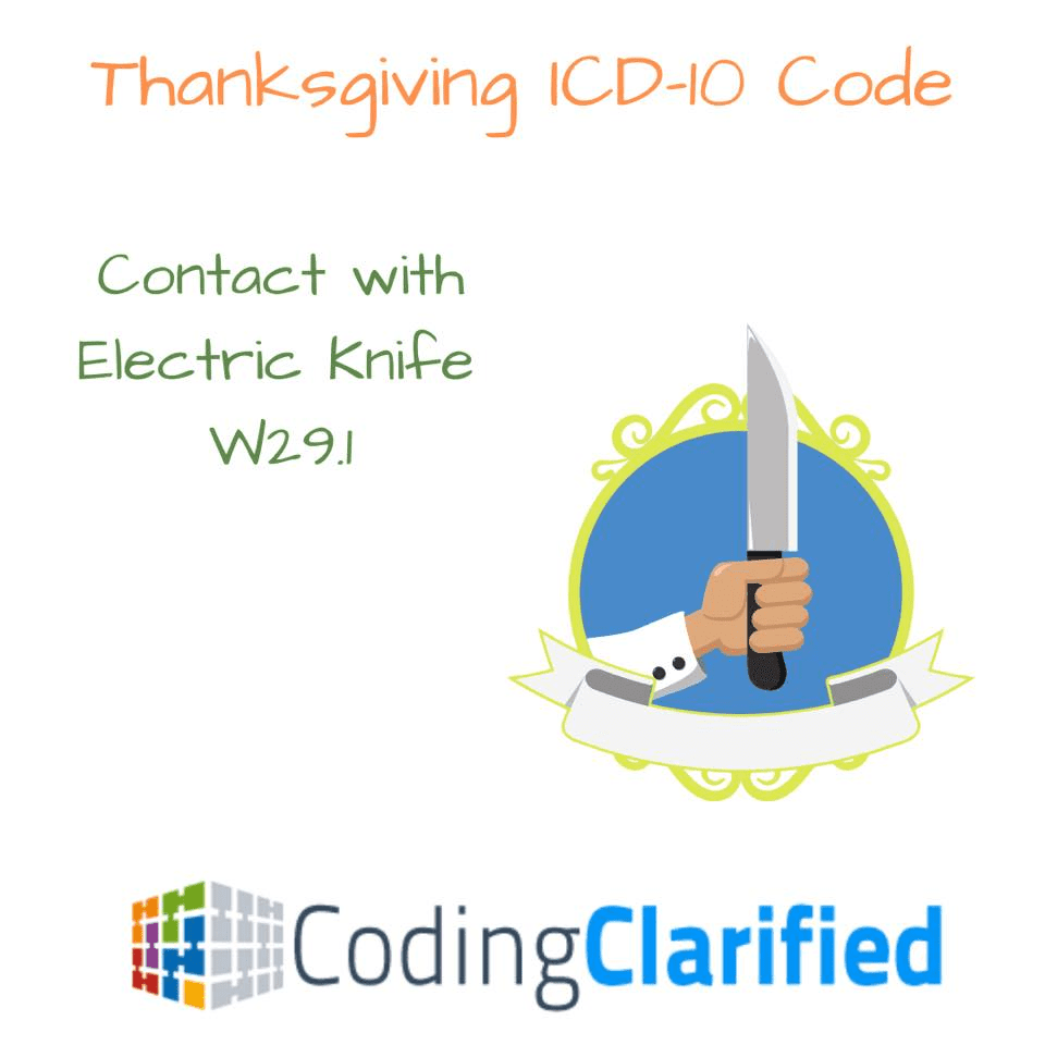 W29.1 Contact with Electric Knife