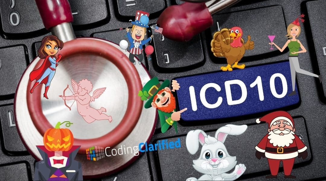 Best Silly ICD-10 Codes for Holidays